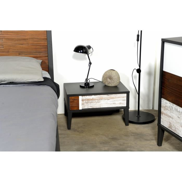 chevet 1 tiroir mini achat vente chevet chevet 1 tiroir mini cdiscount. Black Bedroom Furniture Sets. Home Design Ideas