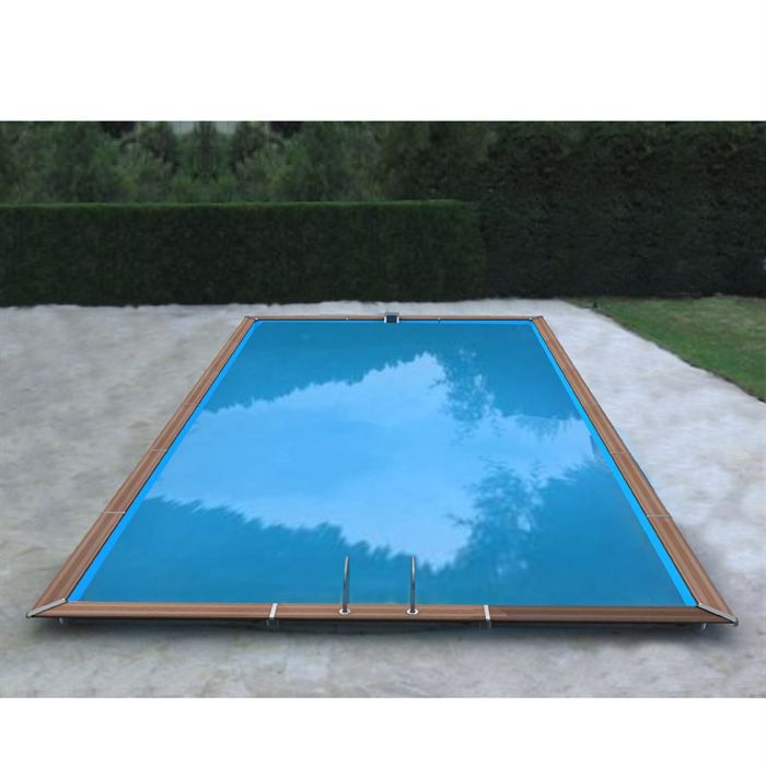 Piscine bois aluminium waterclip 930x460x147 optim achat for Bcf international piscine
