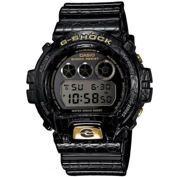 montre casio sport g shock dw 6900cr 1er noire prix pas cher cdiscount. Black Bedroom Furniture Sets. Home Design Ideas