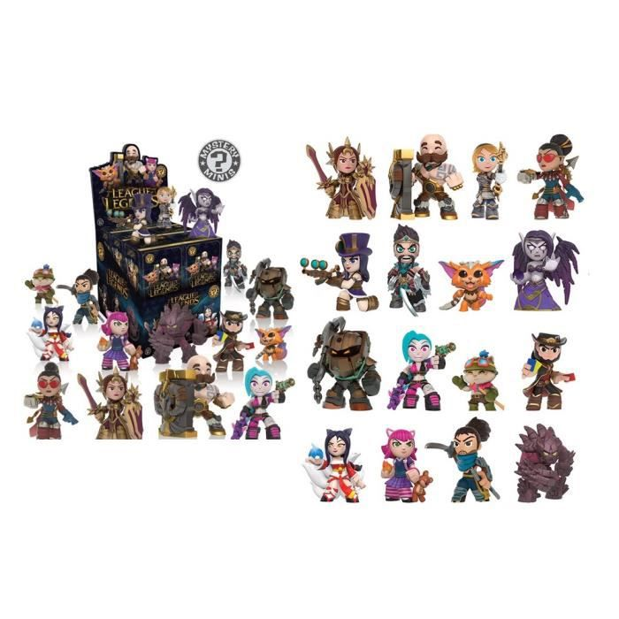 FIGURINE - PERSONNAGE Funko - Figurine League Of Legends Mystery Minis -