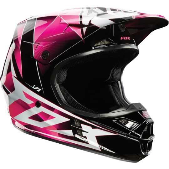 casque cross fox v1 radeon rose achat vente casque moto scooter casque cross fox v1 radeon. Black Bedroom Furniture Sets. Home Design Ideas