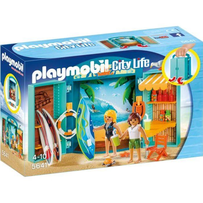 UNIVERS MINIATURE PLAYMOBIL 5641 - City Life - Coffre Boutique de Su