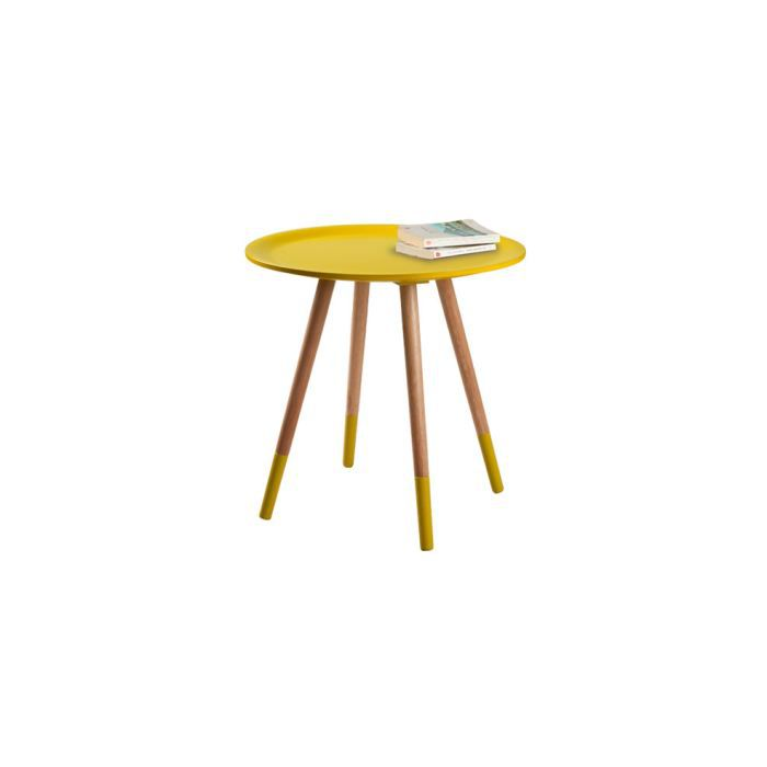 table basse art jaune achat vente table basse table basse art jaune cdiscount. Black Bedroom Furniture Sets. Home Design Ideas