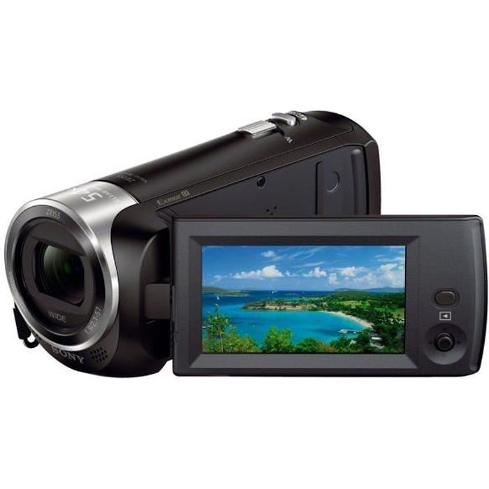 Sony hdr cx240 cam scope full hd achat vente for Housse camescope sony