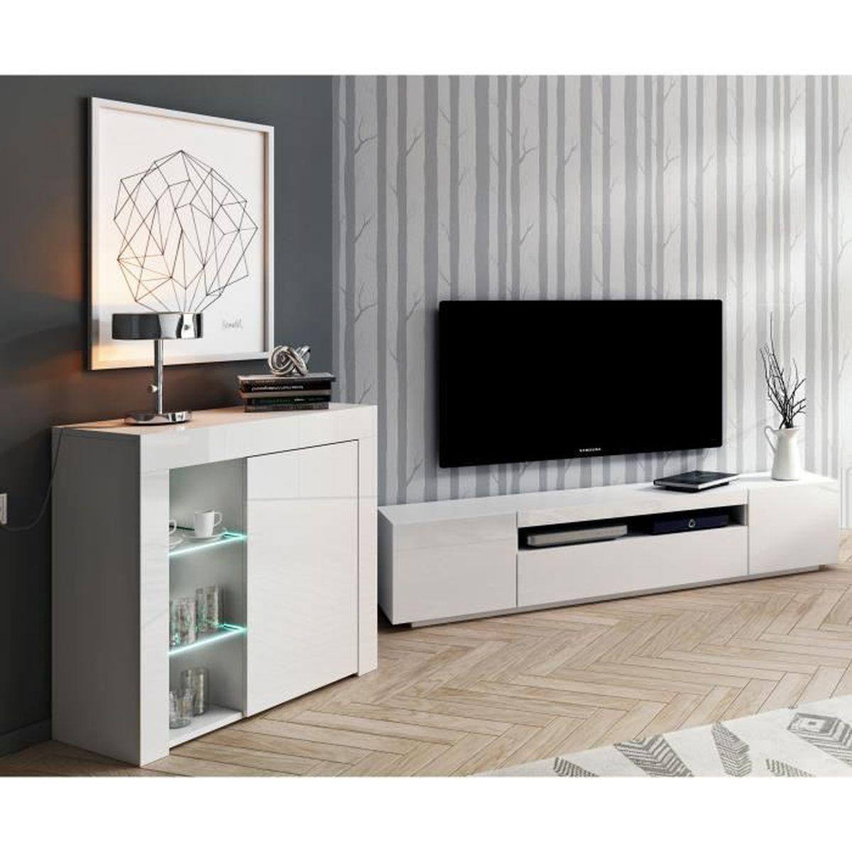 Meuble Tv Living Salon ensemble meuble tv buffet