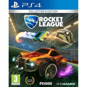 JEU PS4 Rocket League Collector's Edition Jeu PS4+2 Bouton