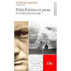 Petits Poemes En Prose De Baudelaire