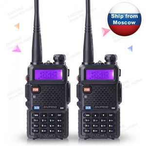 TALKIE-WALKIE 2 Pcs Baofeng Uv - 5r Cb Radio Long Portée  Profes