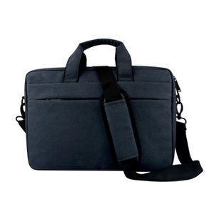 SACOCHE INFORMATIQUE 13,3 pouces bleu marine sac d'ordinateur portable