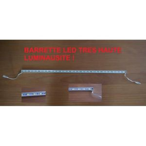 AMPOULE - LED Barrette strip de LED 57 cm ! 90 Leds chaudes 12V