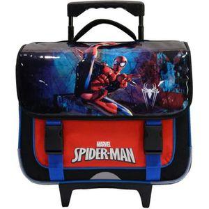 CARTABLE Cartable à roulettes Spiderman - Ecole Primaire No