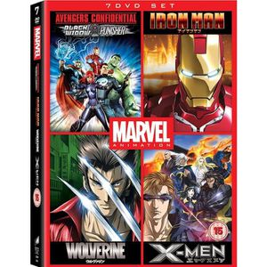 DVD FILM DVD - Avengers Confidential: Black Widow & Punishe