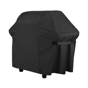 Housse pour barbecue wagon 124x61cm gamme confort noir