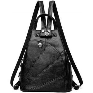 Sac dordinateur portable Faux Cuir Noir V2 Sacs bandouli/ère Sacs /à bandouli/ère Sacs port/és main DEERWORD Femme Sacs port/és dos