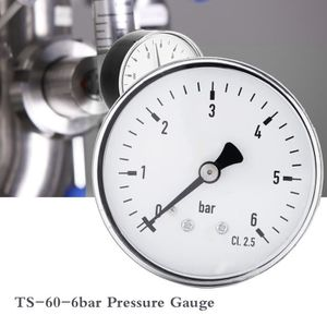 Jauge /à air 0-100psi,0-7bar jauge de pression deau manom/ètre Effacer les lectures num/ériques /à