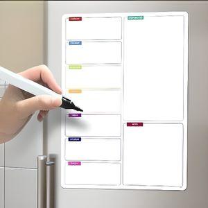TABLEAU D'AFFICHAGE Shopping List tableau magnétique pour le frigo