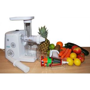 EXTRACTEUR DE JUS Slow Juicer 80t/min extracteur pour Jus de fruit e