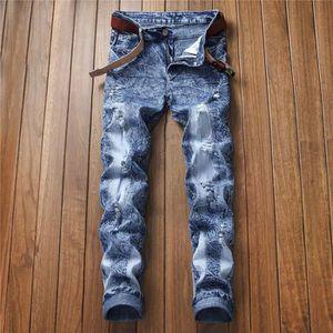 Lacets sur Les c/ôt/és Noir Cuir Jean de Moto pour Homme W38 // 96,5cm Tour de Taille