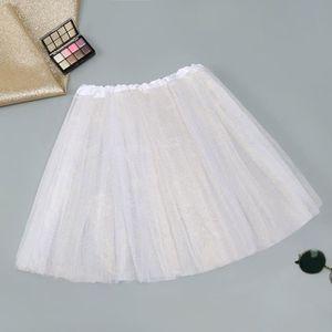 JUPE Jupe courte 3 couches superposées pour femme, jupe