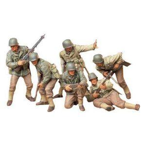 VOITURE À CONSTRUIRE Tamiya  - Maquette - Infanterie d`assaut U S - Ech