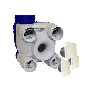 VMC - ACCESSOIRES VMC Unelvent Kit VMC autoréglable avec bouches extra-p