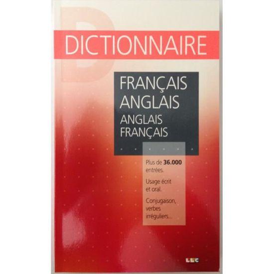 Dictionnaire Francais Anglais Anglais Fran Achat Vente Livre Parution Pas Cher Soldes Sur Cdiscount Des Le 20 Janvier Cdiscount