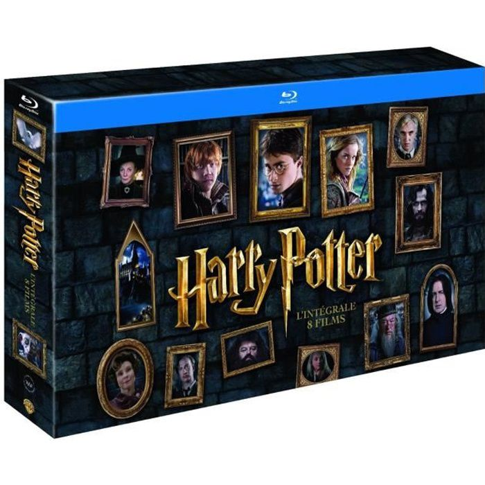 coffret blu ray harry potter l 39 int grale en blu ray film pas cher cdiscount. Black Bedroom Furniture Sets. Home Design Ideas