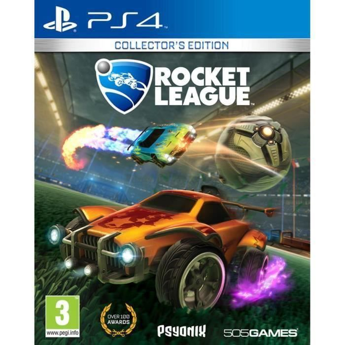 Rocket League Collector's Edition Jeu PS4+2 Boutons Thumstick Offert