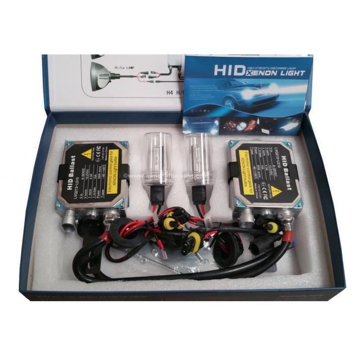 Kit xenon H7 12000K 35W Big + Led T10 RGB Offerte (Oui)