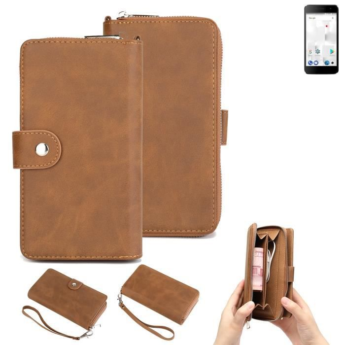 Étui portefeuille pour téléphone portable thomson Friendly TH101 Housse de protection pare-chocs 264088