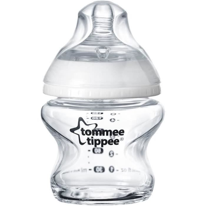 Tommee Tippee Biberon en Verre Closer to Nature, 150ml