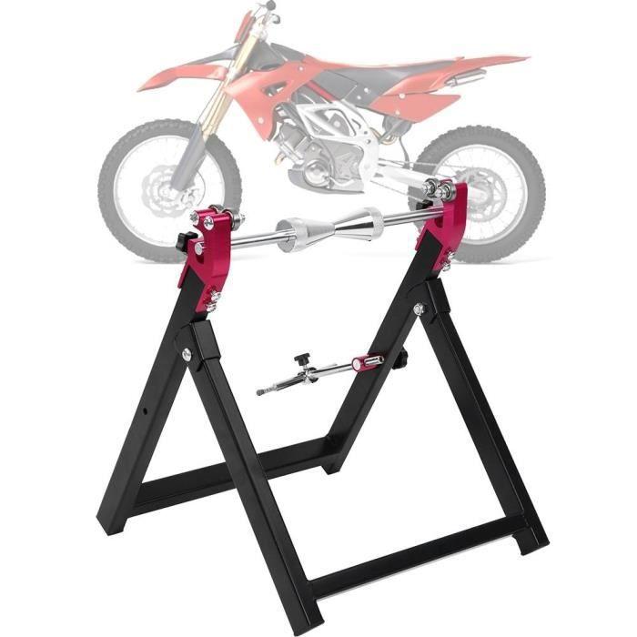 Équilibreuse manuelle de roues de moto pour l'équilibrage des dommages de roues et jantes HB051 -BOT