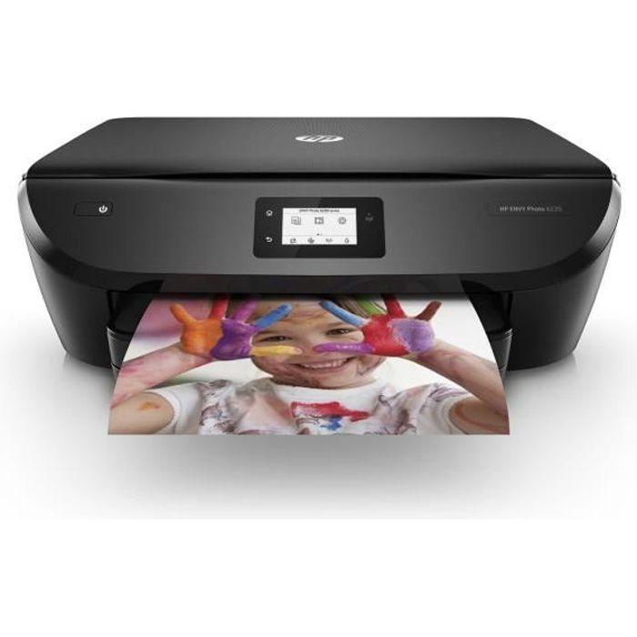 HP Imprimante multifonction ENVY 6220 Cartouches Incluses - Jet d'encre - Wifi - Bluetooth - Impression depuis Smartphone