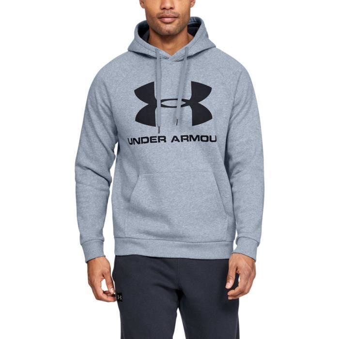 Under Armour Hommes Rival Logo Sweat À Capuche