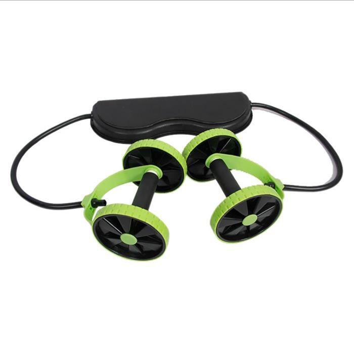 Rouleau Abdominal Muscle Formateur Muscle Bras de roue Taille Rouleau de fitness à domicile