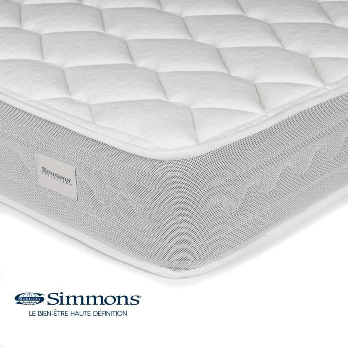 naiades matelas ressorts ensach s simmons 140x190cm. Black Bedroom Furniture Sets. Home Design Ideas