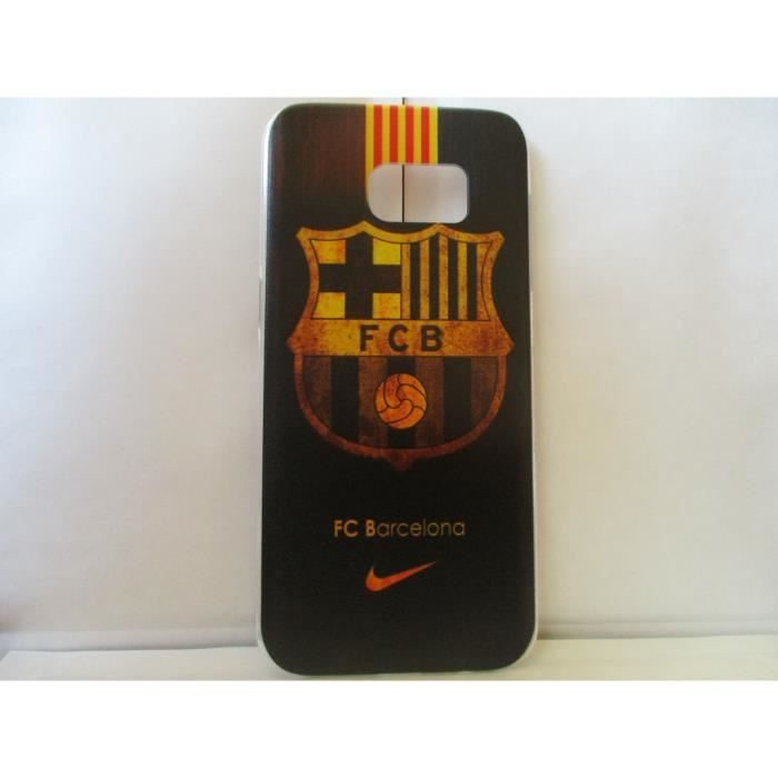 coque fc barcelone samsung galaxy s7 edge neuf achat. Black Bedroom Furniture Sets. Home Design Ideas