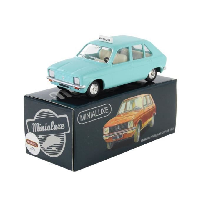 peugeot 104 auto cole minialuxe voiture miniature no dinky achat vente voiture construire. Black Bedroom Furniture Sets. Home Design Ideas