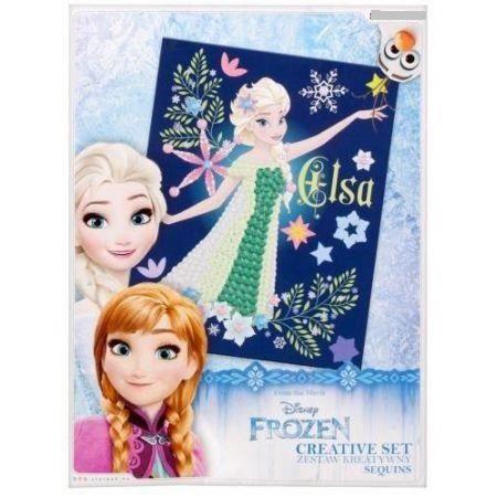 Kit Loisirs Creatifs Pour Enfant Reine Des Neiges Elsa En Sequins Achat Vente Jeu De Coloriage Dessin Pochoir Cdiscount