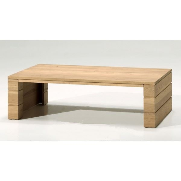 Table basse ch ne massif riche achat vente table basse for Table basse en chene massif