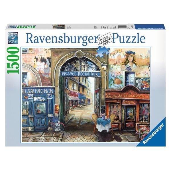 PUZZLE PUZZLE 1500 PIÈCES - PASSAGE DE PARIS RAVENSBURGER