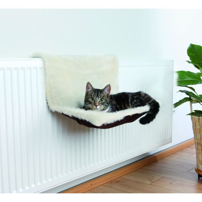 trixie lit radiateur peluche su dine pour chat achat vente corbeille coussin lit. Black Bedroom Furniture Sets. Home Design Ideas
