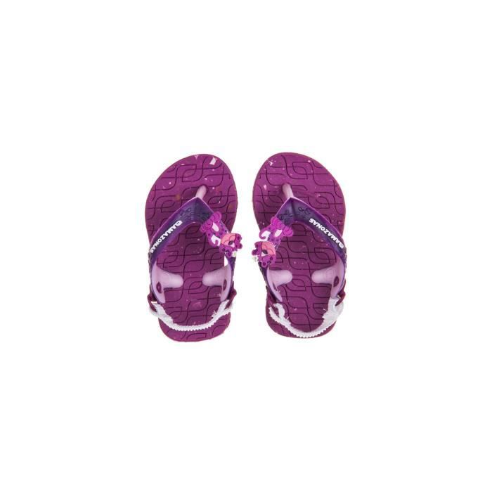 Sandales bébé fille Amazonas Eco Baby Violet ylymOIG3