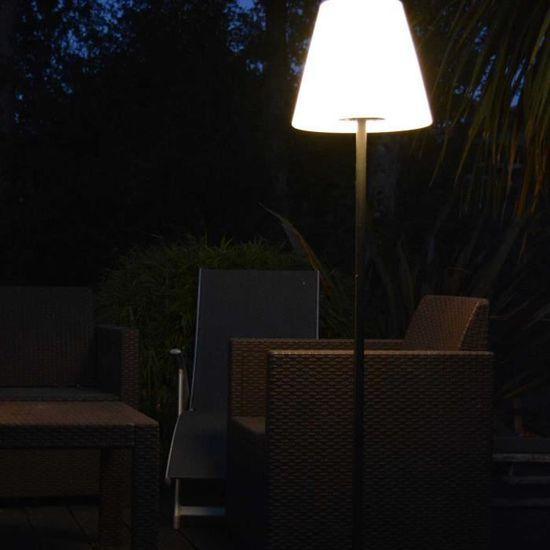 6pcs, Noir Lampes Solaires Jardin Exterieur LED R/éverb/ères 7 Couleur de Changement Id/éal pour les D/écorations de Ext/érieure Terrasse Patio Maison Balcon Cl/ôture All/ée etc