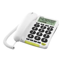 T�l�phone fixe DORO PHONEEASY 312CS BLANC