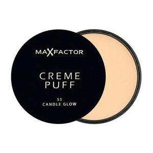 FOND DE TEINT - BASE Poudre Creme puff N°55 Candle Glow Max Factor
