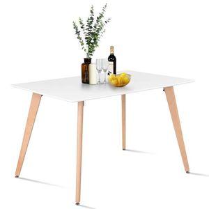 TABLE À MANGER SEULE Table à Manger de Cuisine Table Basse de Détente B