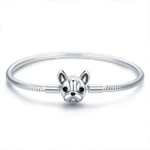 BRACELET - GOURMETTE Bracelet charms style pandora Argent 925
