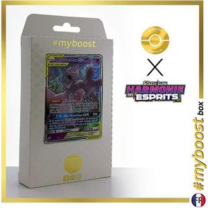 CARTE A COLLECTIONNER Mewtwo et Mew-GX 71-236 - #myboost X Soleil & Lune