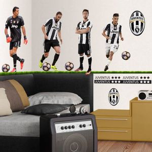 Stickers juventus prix pas cher cdiscount for Decoration murale juventus